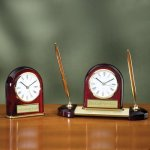 Desk Clock - Domed Boss Gift Awards
