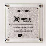 Star Fire Glass Plaque Employee Awards