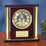 Large Clock with Exposed Gears Secretary Gift Awards
